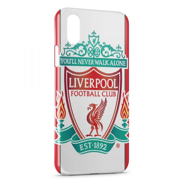 Coque iPhone XS Max Liverpool FC Football 6