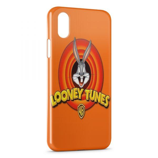 Coque iPhone XS Max Looney Tunes Bugs Bunny