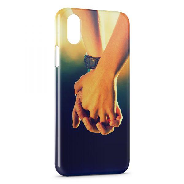 Coque iPhone XS Max Main dans la Main