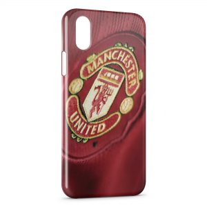 Coque iPhone XS Max Manchester United Football UK 3