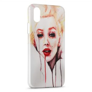 Coque iPhone XS Max Marilyn 2