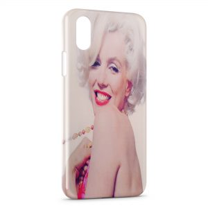 Coque iPhone XS Max Marilyn