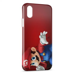 Coque iPhone XS Max Mario