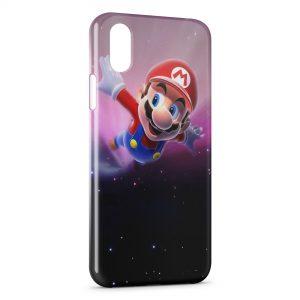 Coque iPhone XS Max Mario Galaxy 2