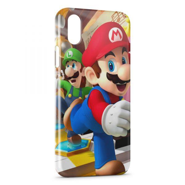 Coque iPhone XS Max Mario Game