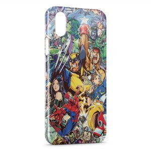 Coque iPhone XS Max Marvel