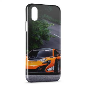 Coque iPhone XS Max McLaren 650S GT3 Voiture