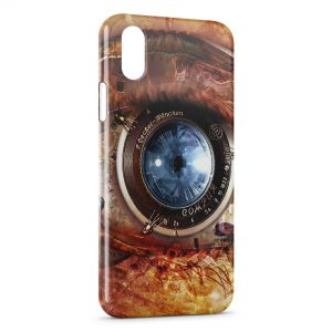 Coque iPhone XS Max Mechanical Eye
