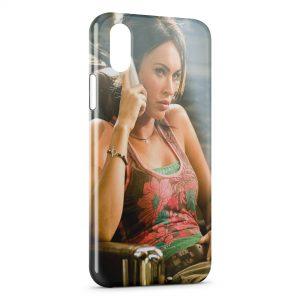 Coque iPhone XS Max Megan Fox Exclusive