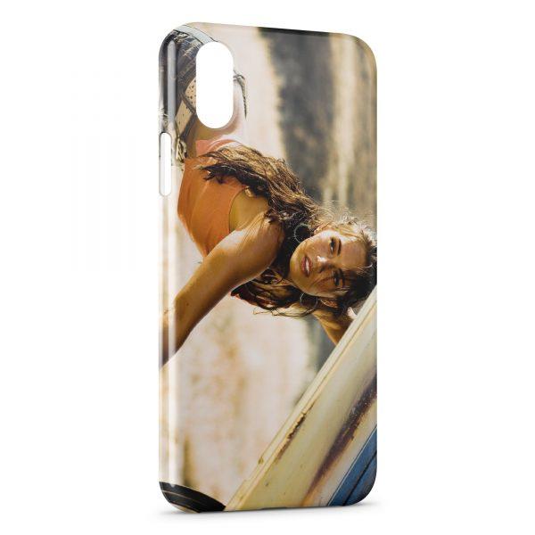 Coque iPhone XS Max Megan Fox Transformers