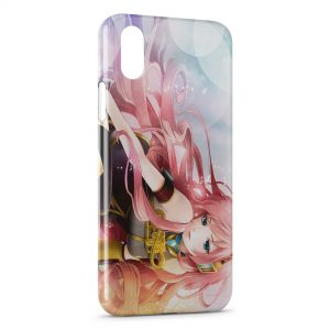 Coque iPhone XS Max Megurine Luka - Vocaloid