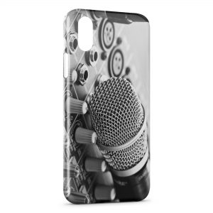 Coque iPhone XS Max Mic & Music