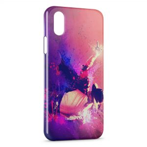 Coque iPhone XS Max Michael Jackson 3