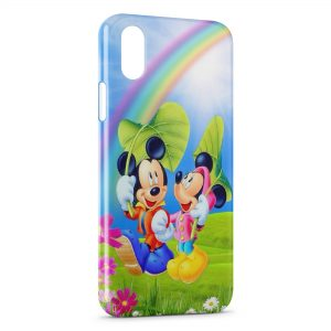Coque iPhone XS Max Mickey & Minnie 2