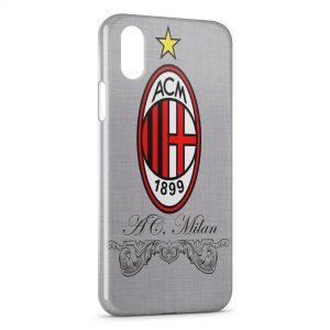 Coque iPhone XS Max Milan AC Football