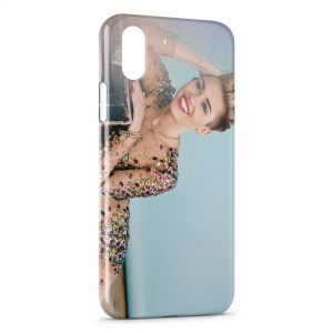 Coque iPhone XS Max Miley Cyrus