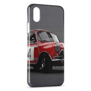 Coque iPhone XS Max Mini Cooper Rouge