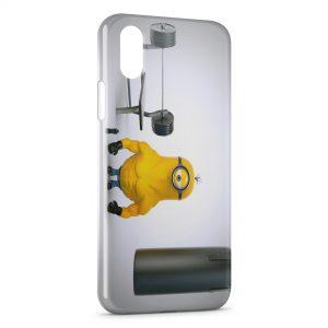 Coque iPhone XS Max Minion 14
