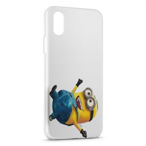 Coque iPhone XS Max Minion 18