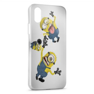 Coque iPhone XS Max Minion 20