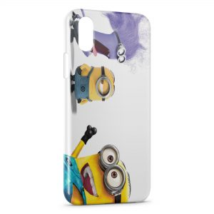 Coque iPhone XS Max Minion 21