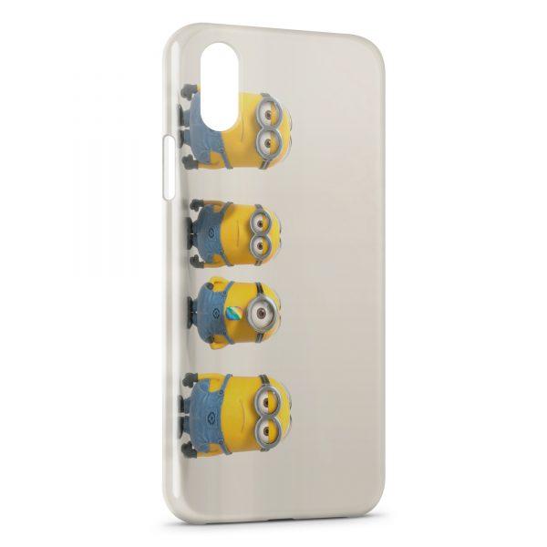 Coque iPhone XS Max Minion 22