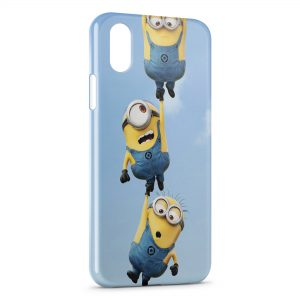 Coque iPhone XS Max Minion 3