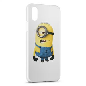 Coque iPhone XS Max Minion 7