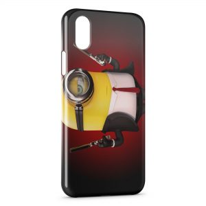 Coque iPhone XS Max Minion Hitman