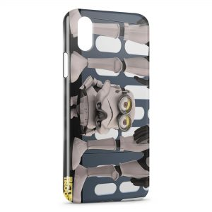 Coque iPhone XS Max Minion Star Wars