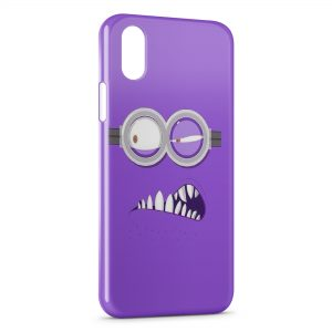 Coque iPhone XS Max Minion Violet 32