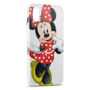Coque iPhone XS Max Minnie Mickey 4