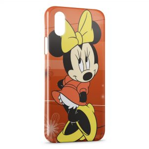Coque iPhone XS Max Minnie Mickey 5