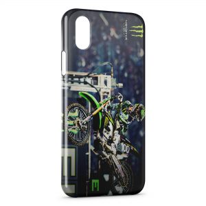 Coque iPhone XS Max Monster Moto