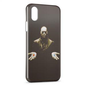 Coque iPhone XS Max Morpheus Matrix Pilule
