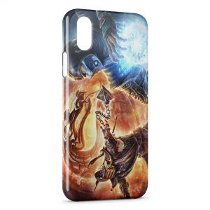 Coque iPhone XS Max Mortal Kombat