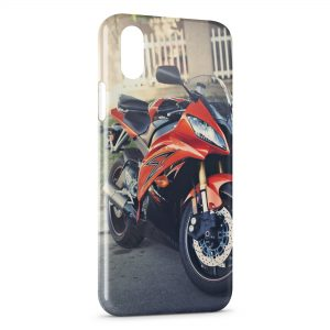 Coque iPhone XS Max Moto 3