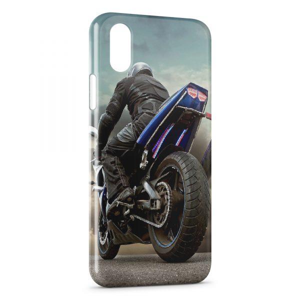 Coque iPhone XS Max Moto 5