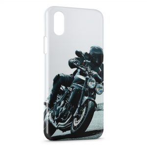 Coque iPhone XS Max Moto Road Race 3