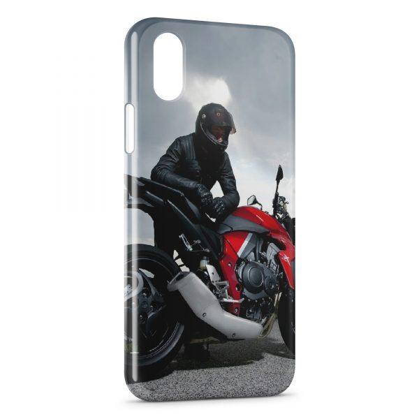 Coque iPhone XS Max Moto Sport 2