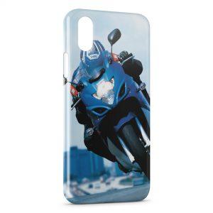 Coque iPhone XS Max Moto Suzuki gsx 650f