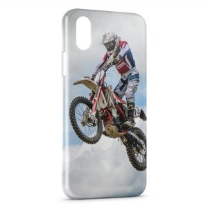 Coque iPhone XS Max Motocross