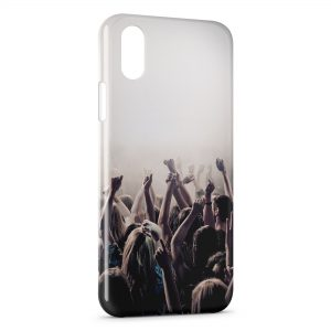 Coque iPhone XS Max Music Fan
