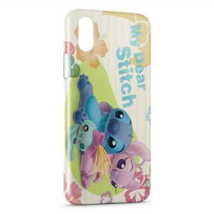 Coque iPhone XS Max My Dear Stitch