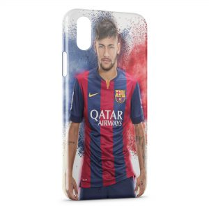 Coque iPhone XS Max Neymar FC Barcelone 6