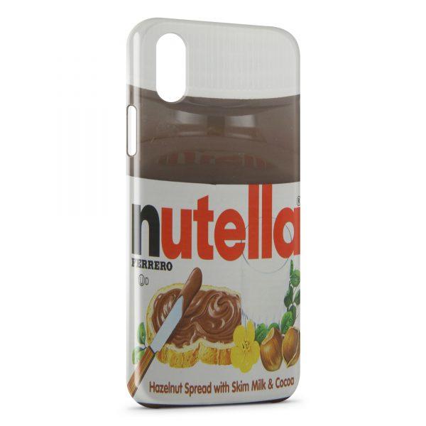 Coque iPhone XS Max Nutella
