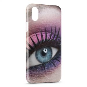 Coque iPhone XS Max Oeil Girly