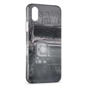 Coque iPhone XS Max Off-road Land Rover Defender 4x4