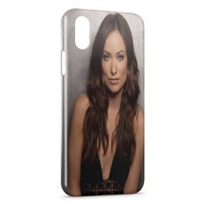 Coque iPhone XS Max Olivia Wilde