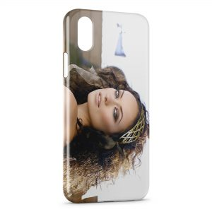 Coque iPhone XS Max Olivia Wilde 4